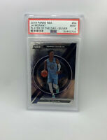 2019 Panini NBA JA MORANT #84 Player Of The Day SILVER Rookie Card RC PSA 9 MINT