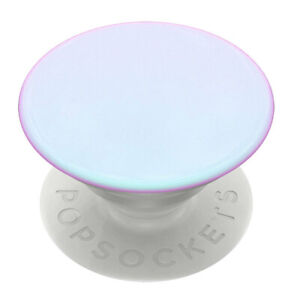 PopSockets Universal Swappable PopGrip Holder w/ Base Colour Chrome Mermaid WHT