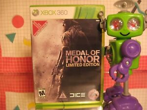 Medal of Honor Limited Edition Xbox 360 2010 Combat FPS Game