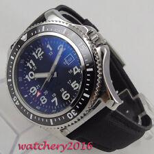 Bliger 44mm Sterile dial Luminous ceramic bezel automatic mechanical men's Watch