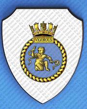HMS VIGOROUS WALL SHIELD