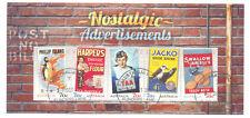 Australia-Nostalgic Adverts min sheet fine used-cto(2014)