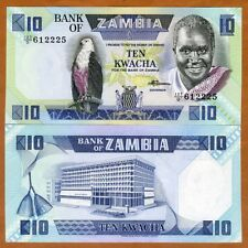 United Zambia 2 Kwacha 1980-1988 P 24 Unc Lot 20 Pcs Paper Money: World