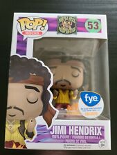 Funko Pop! Rocks: Jimi Hendrix F.Y.E. Exclusive #53 with protector