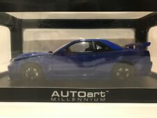 1:18 AUTOART NISSAN GTR R34 Z-TUNE BLUE MINT IN BOX NEW
