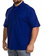 Absolute Apparel AA12 Mens Polo Shirts Size M Blue heavyweight