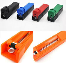New Manual Cigarette Tube Rolling Machine Tobacco Roller Injector Maker Randomly