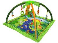 Baby Playmat Musical Rainforest Activity Play Mat & Fun Sensory Toys