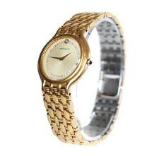 Orient Mon Bijou Gold Plated & Stainless Steel Quartz Watch Unisex OW16569L
