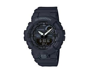 Casio G-Shock Analog Digital Step Tracker Resin Black Men's Watch GBA800-1A