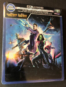 Guardians of the Galaxy [ Limited Edition STEELBOOK ] (4K Ultra HD Blu-ray) NEW