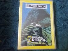national Geographic treasure seekers lost cities of the inca dvd