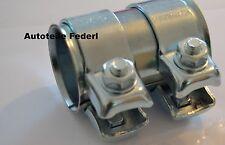 Rohrverbinder/Doppelschelle 50mm x 90mm  Fiat,Citroen,Ford,Mazda,BMW, Audi usw.