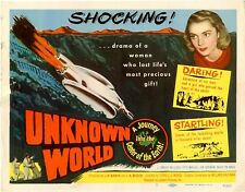 Unknown World 1951 Bruce Kellogg, Otto Waldis Sci-Fi Adventure DVD