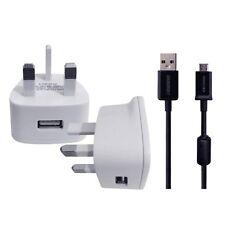 Cargador De Pared y Cable USB para NIKON keymission 360 4k Ultra HD Acción Filmadora