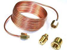 """Copper Oil Line Kit For Mechanical Oil Gauge w/ Fittings 72"""" #104"""