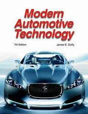 Modern Automotive Technology by James E. Duffy Hardcover Textbook