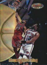 1997-98 Bowman's Best Atomic Refractors Heat Basketball Card #39 Alonzo Mourning