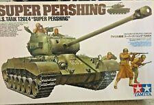 "1/35 T26E4 ""Super Pershing"" + Infantry -- TAMIYA No. 319"