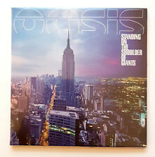 Oasis Standing On The Shoulder Of Giants Promo CD in Cardboard-Sleeve