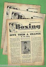 #T9. Three 1946 British Boxing Magazines