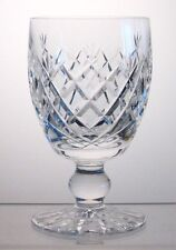 "DONEGAL WATERFORD CRYSTAL Water Goblet/s 5 1/4"", Signed, Multi Avail"