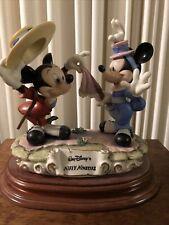 Laurenz Mickey And Minnie Mouse Walt Disney's Nifty Nineties Figurine