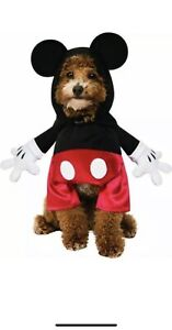 Rubie's Mickey Mouse Pet Dog Costume - Size L, New