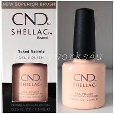 CND Shellac UV GEL Nail Polish, Naked Naivete - 0.25oz