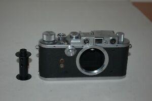 Nicca-3s RARE Vintage 1952 Japanese Rangefinder Camera & Case. 50892. UK Sale