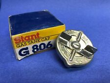 "G806 STANT Metal Fuel Tank Gas Cap has correct ""S"" stamp on rivet, handle NOS"