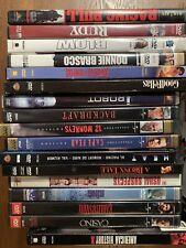Pick A Dvd $1.99 Drama Deniro, Pesci, Scosese, Goodfellas, Depp, Tupac & more.