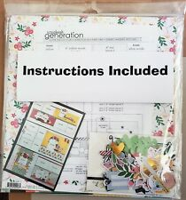 Scrapbook Page Kits - 12x12 Pages; Multiple Pages; Kits make 3 Two-page layouts
