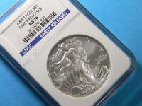 USA 2008 Silver Eagle NGC MS 70 Early Releases