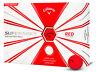 Callaway Supersoft Golf Balls - 1 Dozen Red -  Mens