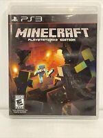 Minecraft - Playstation 3 Edition PS3 No Manual