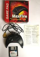 Genius Maxfire Game Pad Programmable G-08 Boxed Instructions Disk