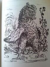 BUFFON - (31 dessins de PICASSO) (repro Ed Mariani de 1942). Ex. numéroté - Rare