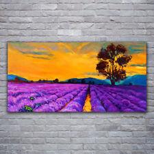 Leinwand-Bilder Wandbild Canvas Kunstdruck 120x60 Feld Landschaft