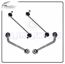 For Mercedes Benz C-Class Sport Front & Rear Anti Roll Bar Drop Link Rods Bars