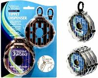 Stream Works Expandable 3-Modular Tippet Dispenser with Ring Clips & Line Cutter
