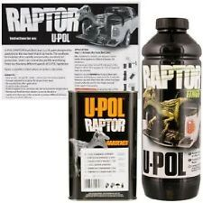 U-Pol Raptor POST OFFICE CHERRY RED Liner,Tough waterproofing 1 litre kit