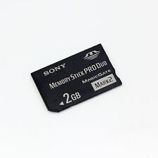 10 pcs Sony 2GB Memory Stick Pro Duo,MS 2GB Card for Sony Camera Recorder PSP