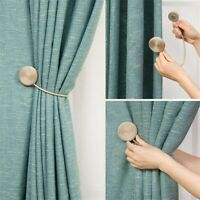 Magnetic Curtain Buckle Decoration Clip On Flower Holder Tie Backs Home Decor