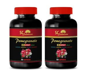 vitamin C supplement - Pomegranate 40% Extract - reduce risk of heart disease 2B