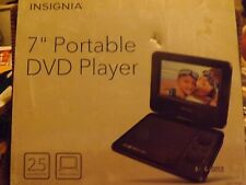 Insignia 7 Inch Portable DVD Player
