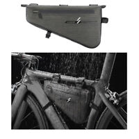 Stable Bicycle Bike Storage Bag Triangle Saddle Frame Pouch for Cycling