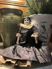"Antique China Doll Head And Shoulders 11"" Original Beautiful Primitive German?"
