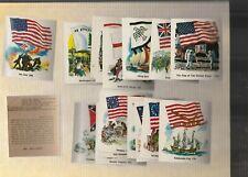 1976 Sunbeam/TastyKake Flags Stickers Near Mint Complete Set(31 stickers)