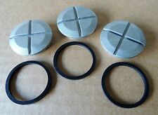 INSPECTION COVER w/GASKET FOR  DELCO 37MT 41MT  42MT STARTERS.. LOT OF 3